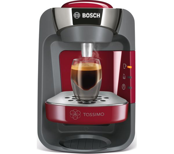 buy tassimo by bosch suny tas3203gb coffee machine red costa cappuccino t discs pack of 8. Black Bedroom Furniture Sets. Home Design Ideas