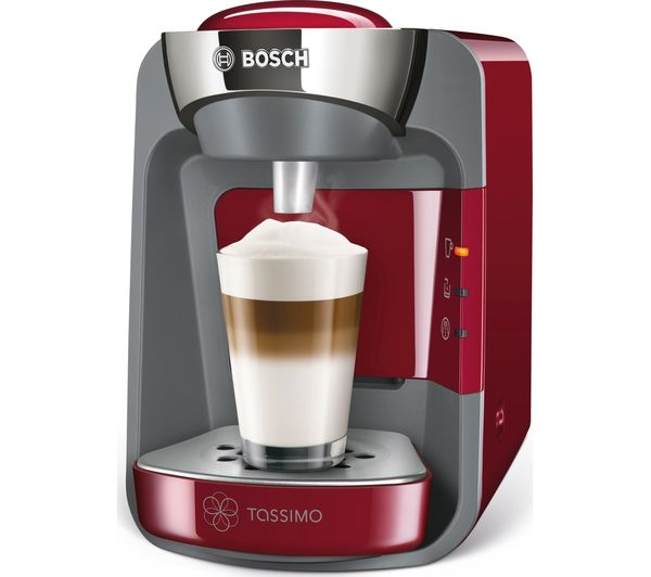 buy tassimo by bosch suny tas3203gb coffee machine red costa americano t discs pack of 16. Black Bedroom Furniture Sets. Home Design Ideas