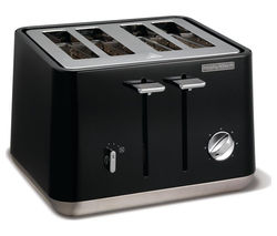 MORPHY RICHARDS Aspect 240002 4-Slice Toaster - Black