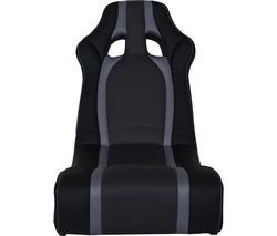 X ROCKER Ghost Gaming Chair - Black & Grey