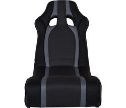 X ROCKER Ghost Gaming Chair - Black & Grey