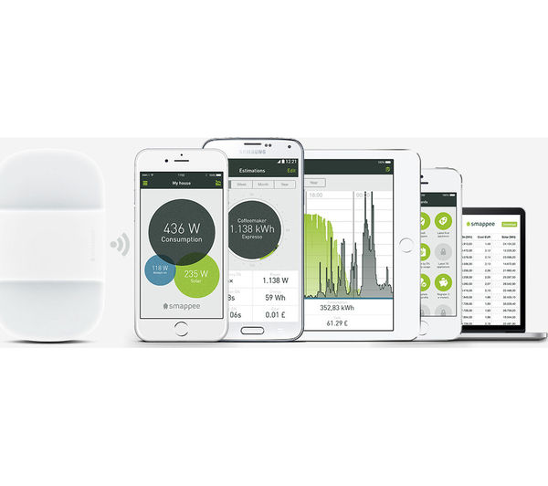 Home Power Monitor : Buy smappee home energy monitor free delivery currys