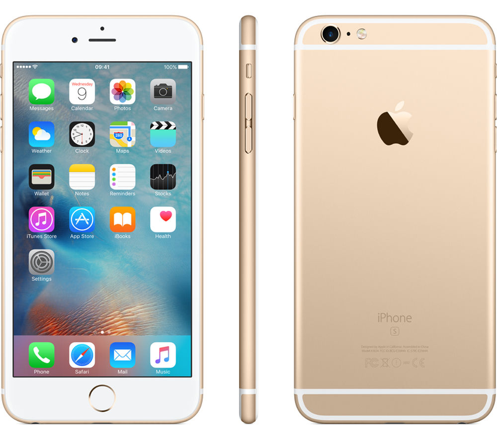 buy apple iphone 6s plus 128 gb gold free delivery currys. Black Bedroom Furniture Sets. Home Design Ideas
