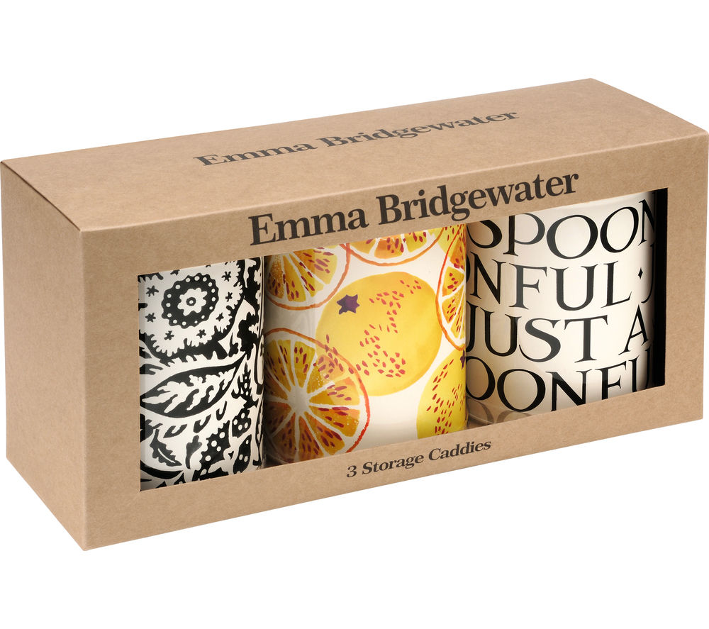 Image of TOAST By Emma Bridgewater Toast & Marmalade Storage Caddies - Set of 3