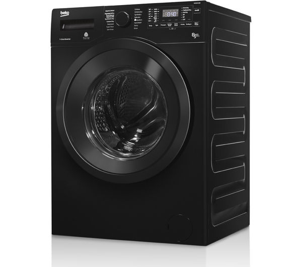 Buy Beko Wdx8543130b Washer Dryer Black Free Delivery