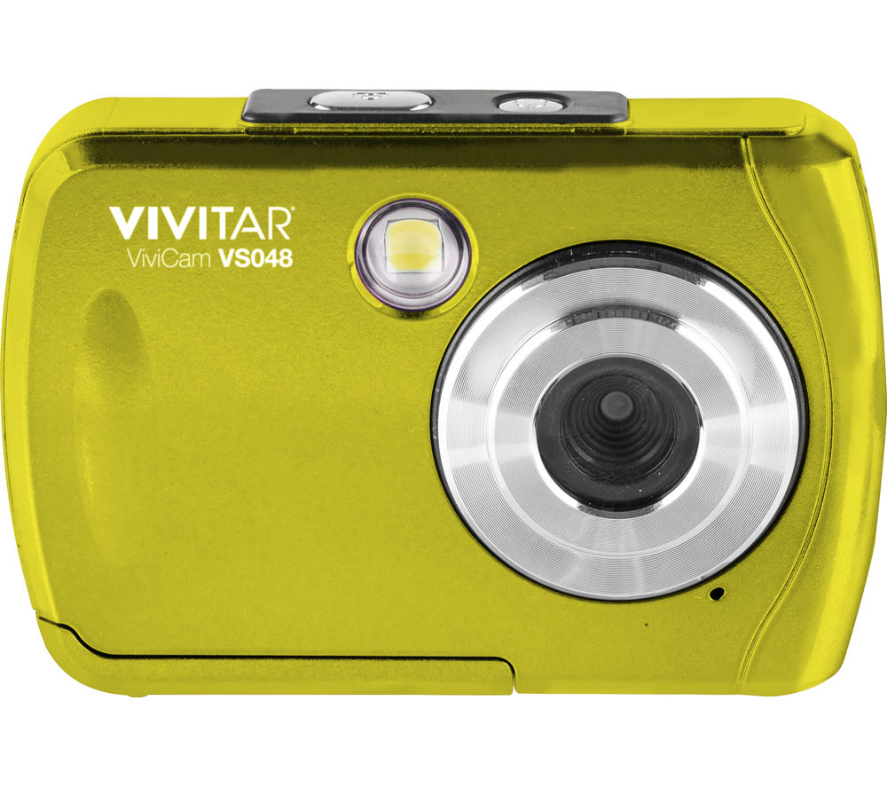 VIVITAR VS048 Compact Camera - Yellow
