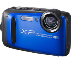 FUJIFILM XP90 Tough Compact Camera - Blue