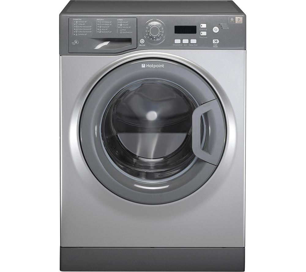 HOTPOINT  Aquarius WMAQF721G Washing Machine  Graphite Graphite