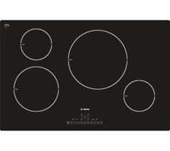 BOSCH Serie 6 Classixx PIL811F17E Induction Hob - Black