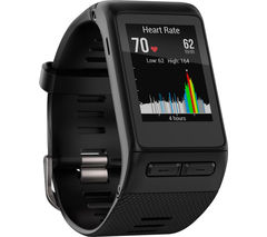 GARMIN vivoactive HR - Black, Medium