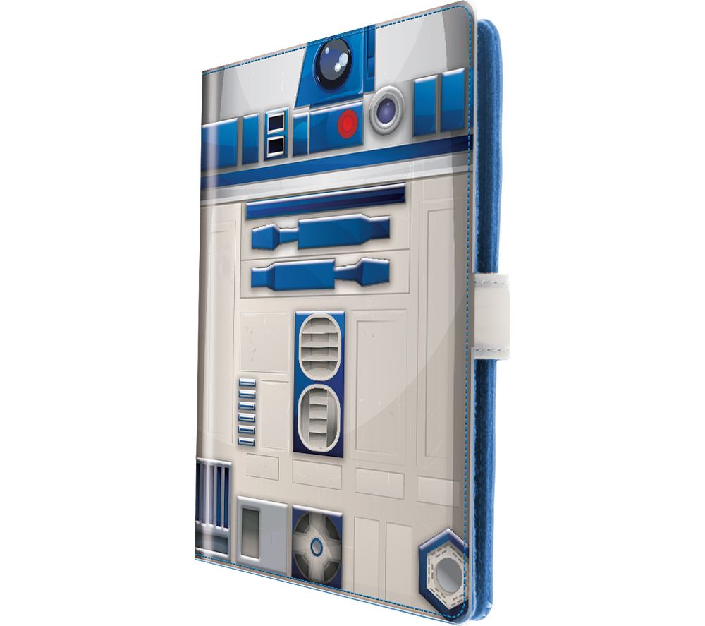 "STAR WARS R2D2 10"" Tablet Folio Case - White"