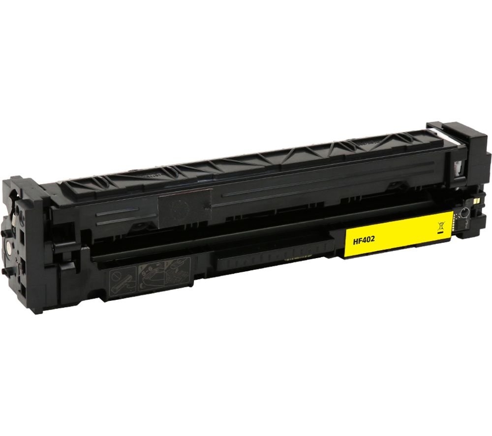 ESSENTIALS Remanufactured CF402A Yellow HP Toner Cartridge