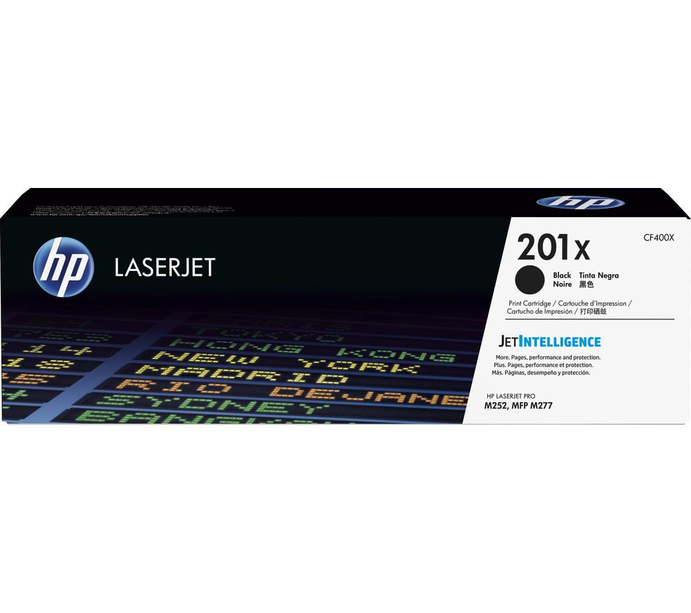 HP 201X Black Toner Cartridge