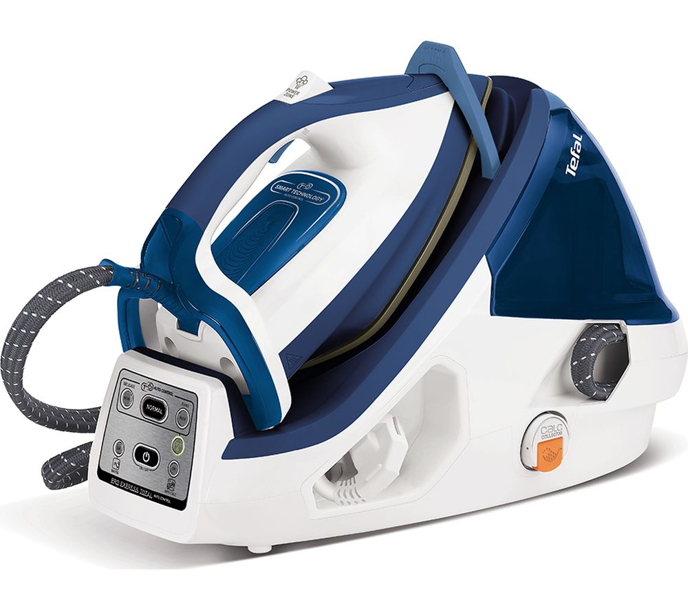 TEFAL Pro Express Plus High Pressure GV8932G0 Steam Generator Iron - Blue & White