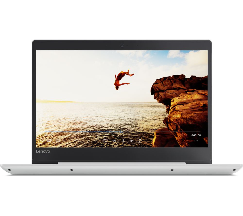 "LENOVO Ideapad 320s-14IKB 14"" Laptop - White + Office 365 Personal + LiveSafe Unlimited 2017 - 1 year"