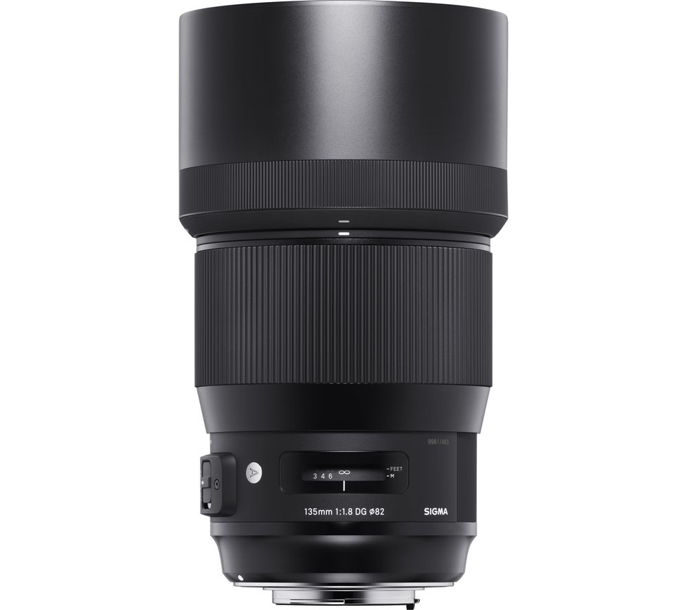 Sigma 135 Mm F/1.8 Dg Hsm A Telephoto Prime Lens - For Canon.
