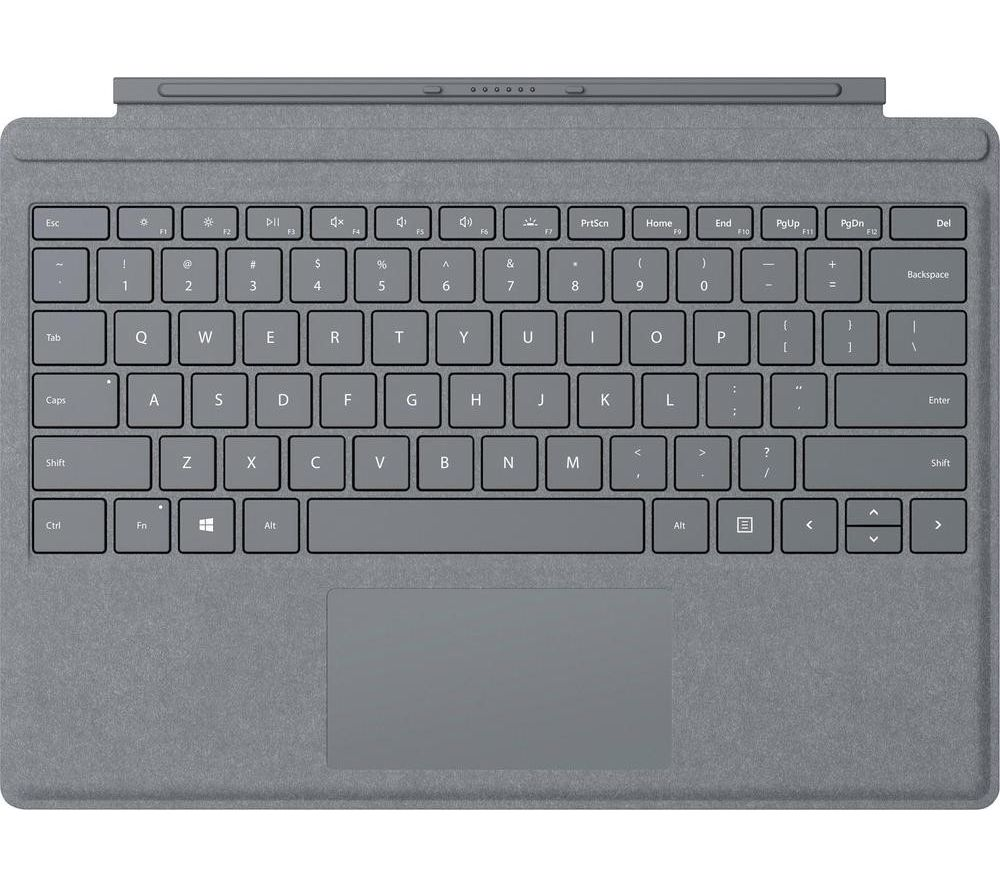 MICROSOFT Surface Pro Typecover - Alcantara Platinum