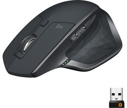 LOGITECH MX Master 2S Wireless Darkfield Mouse - Graphite