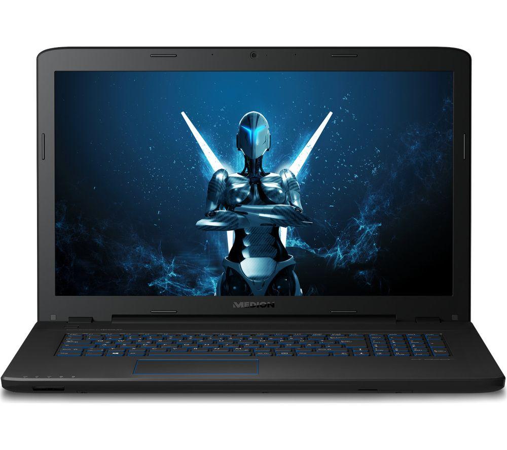 """MEDION ERAZER P7647 17.3"""" Gaming Laptop - Black"""