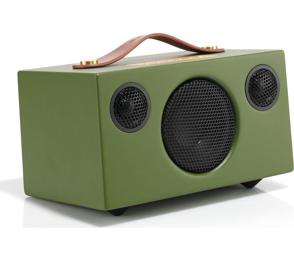 Image of AUDIO PRO Addon T3 Portable Bluetooth Wireless Speaker - Green, Green