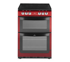 NEW WORLD 551ETC Electric Cooker - Metallic Red