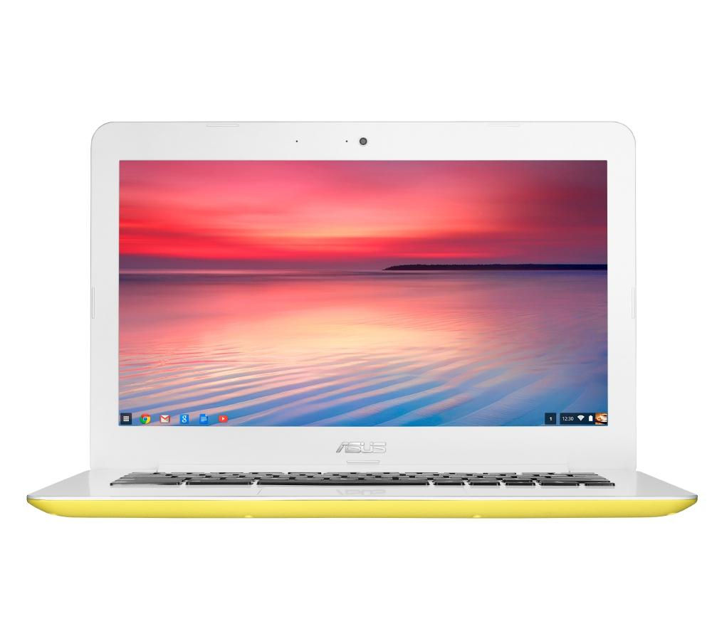 "ASUS C300 13.3"" Chromebook - Yellow"