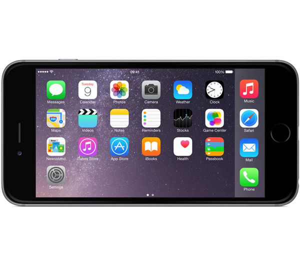 buy apple iphone 6 plus 16 gb space grey free delivery currys. Black Bedroom Furniture Sets. Home Design Ideas