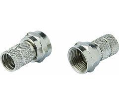 ESSENTIALS CSATPL15 Twist F Plug Adapters