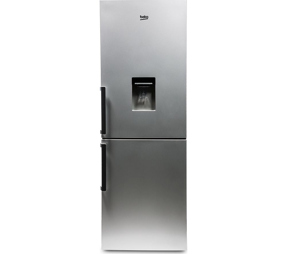 BEKO  CFP1675DS Fridge Freezer  Silver Silver
