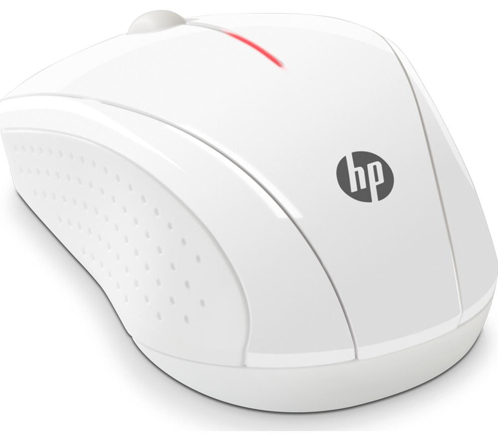 HP X3000 Wireless Optical Mouse - Blizzard White