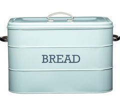 KITCHEN CRAFT Living Nostalgia Vintage Bread Bin - Blue