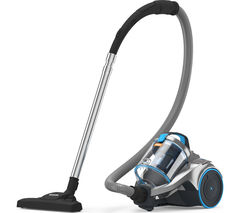 VAX Dynamo Power Pets C85-Z2-Pe Cylinder Vacuum Cleaner - Blue, Silver & Black