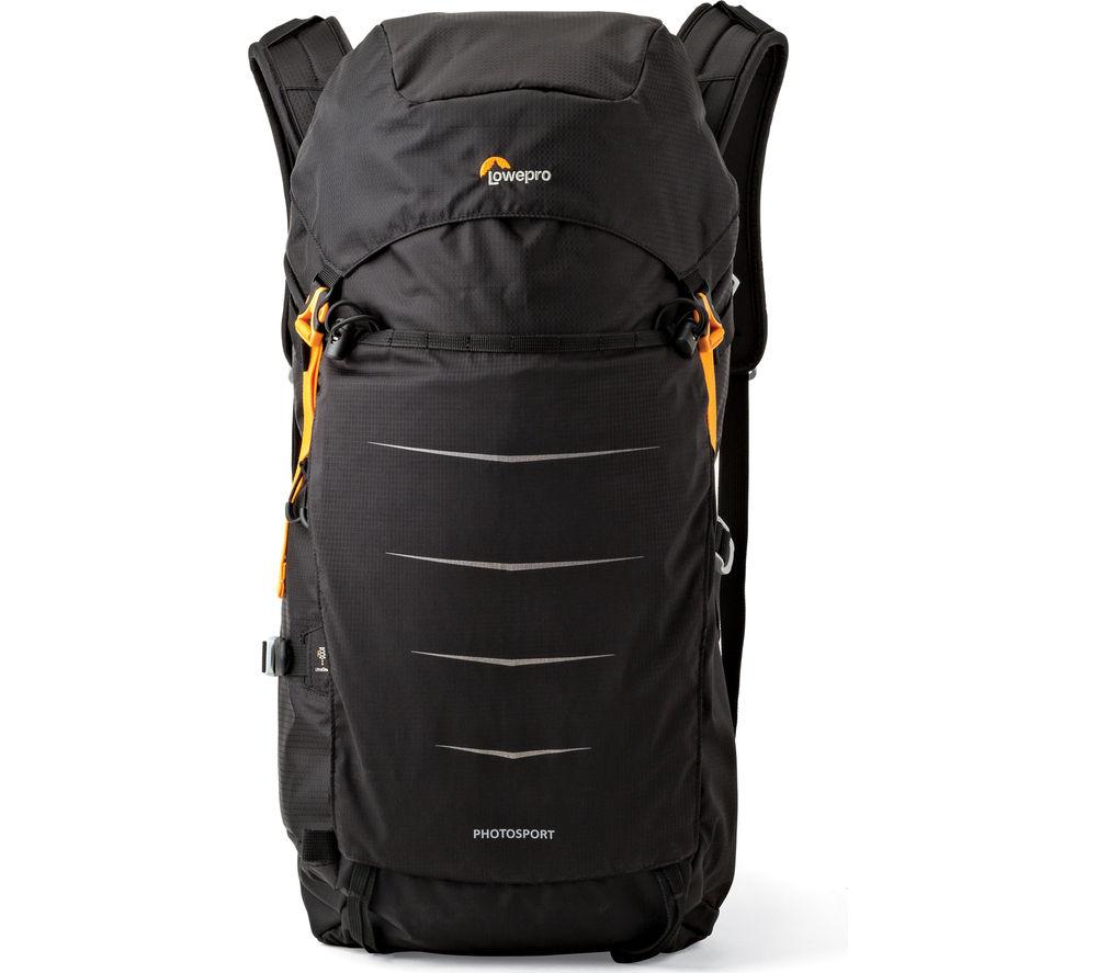 LOWEPRO Photo Sport BP 300 AW II DSLR Camera Backpack – Black