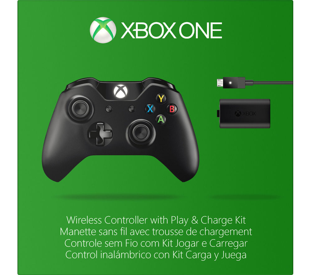 MICROSOFT Xbox One Wireless Gamepad with Play & Charge Kit