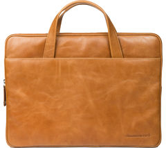"DBRAMANTE 1928 Silkeborg 15"" Leather Laptop Case - Tan"