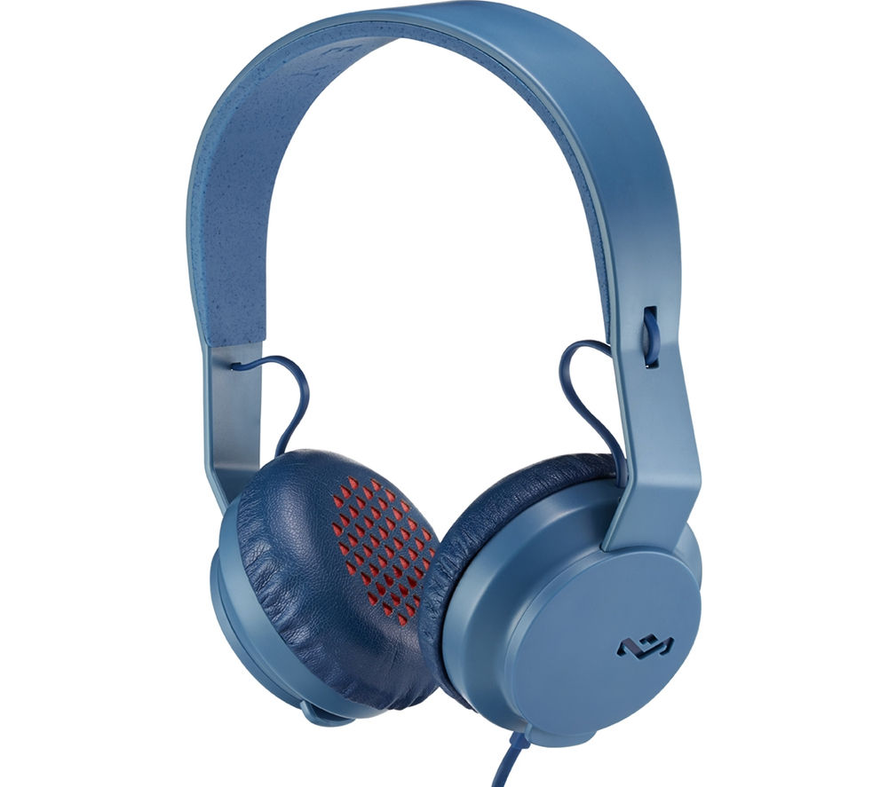Click to view more of HOUSE OF MARLEY  Roar Headphones - Navy, Navy