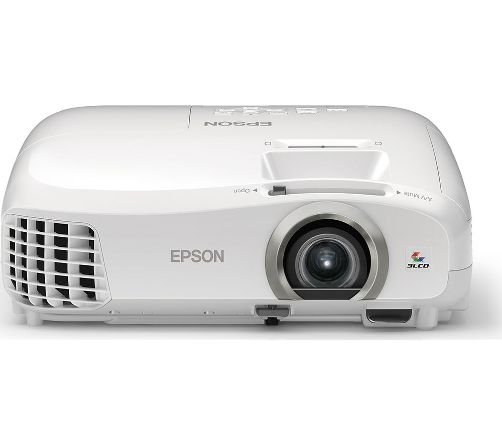Buy epson eh tw5300 long throw full hd home cinema for Smallest full hd projector