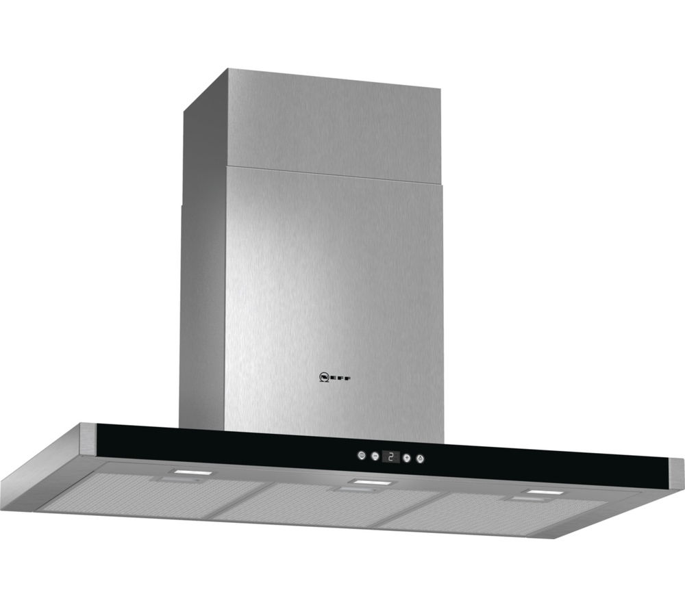 buy neff d79mh52n1b chimney cooker hood stainless steel free delivery currys. Black Bedroom Furniture Sets. Home Design Ideas