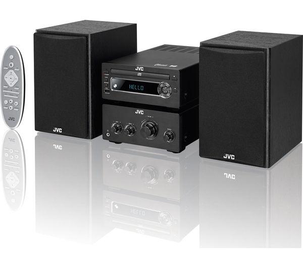 jvc ux d750 wireless traditional hi fi system black. Black Bedroom Furniture Sets. Home Design Ideas