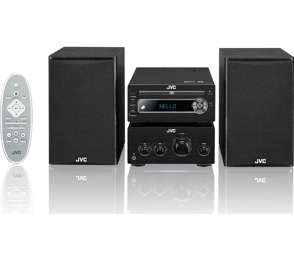 Buy Jvc Ux D750 Wireless Traditional Hi Fi System Black
