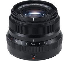 FUJIFILM Fujinon XF 35 mm f/2.0 R WR Standard Prime Lens