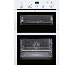 NEFF U14M42W5GB Electric Double Oven - White