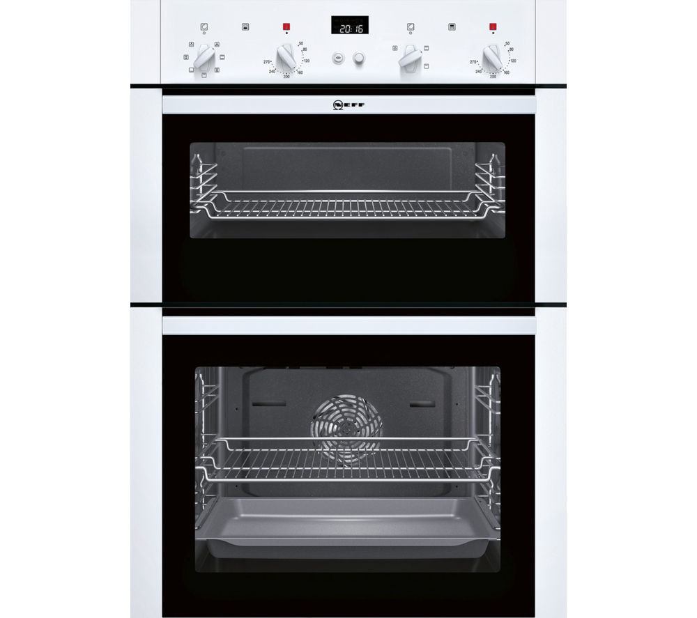 Neff NEFF  U14M42W5GB Electric Double Oven  White White