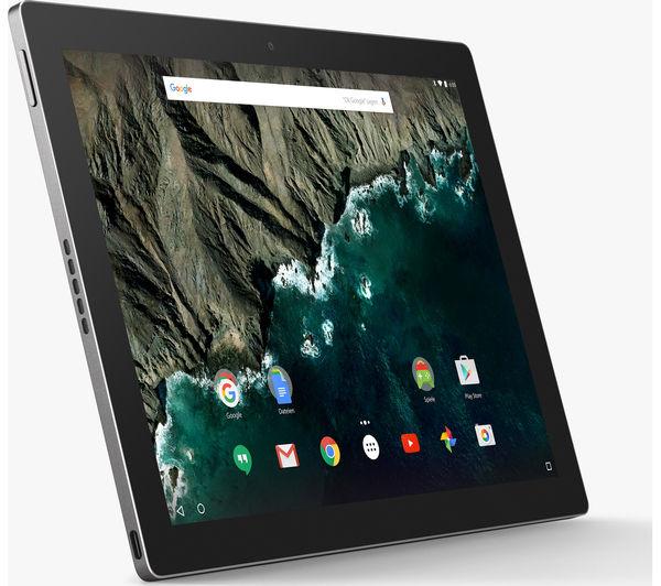 """GOOGLE Pixel C 10.2"""" Tablet - 64 GB, Silver Deals"""
