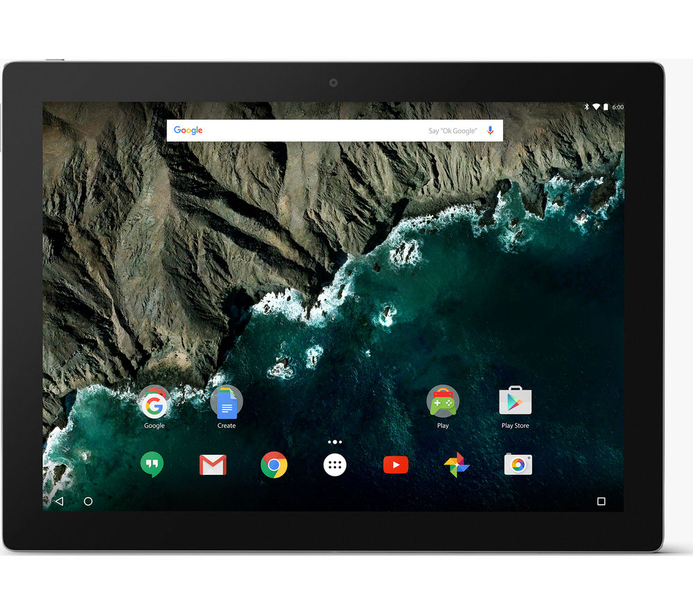 "GOOGLE Pixel C 10.2"" Tablet - 64 GB, Silver + LiveSafe Unlimited 2017 - 1 year + Cloud Storage for Tablets & Mobiles - 200 GB, 1 year"