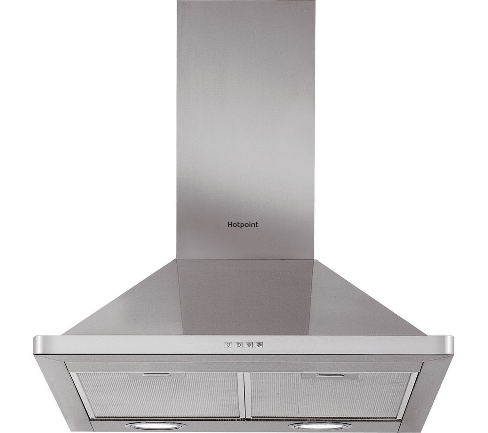 HOTPOINT  PHPN6.4FAMX Chimney Cooker Hood  Stainless Steel Stainless Steel