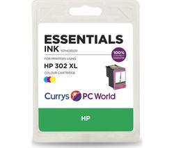 ESSENTIALS 302 XL Tri-Colour HP Ink Cartridge