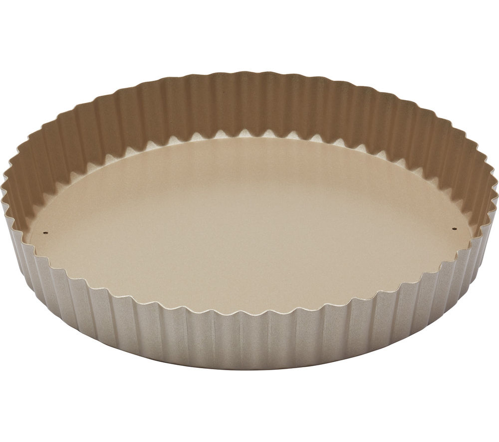 Image of PAUL HOLLYWOOD 23 cm Non-Stick Quiche Tin - Gold, Gold