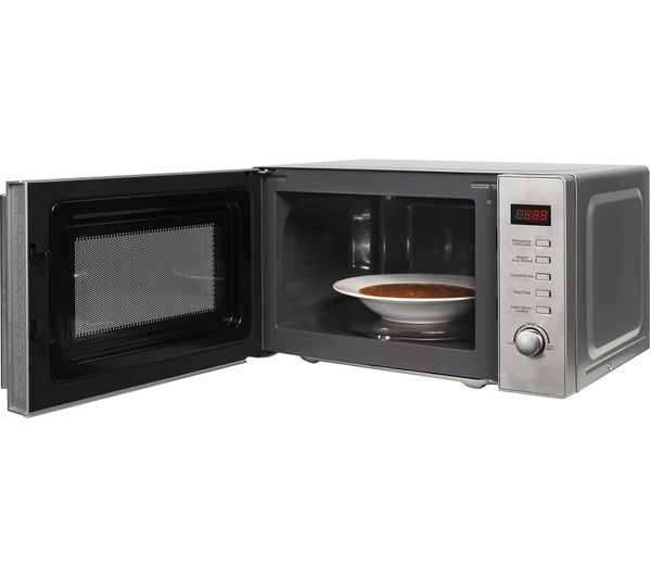 buy russell hobbs rhm2098 microwave with grill stainless steel free delivery currys. Black Bedroom Furniture Sets. Home Design Ideas