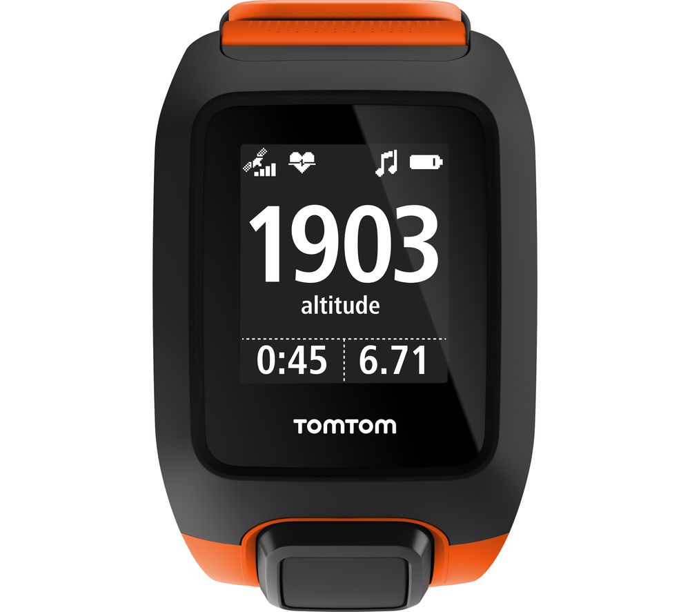 tomtom adventurer outdoor gps watch orange universal deals pc world. Black Bedroom Furniture Sets. Home Design Ideas